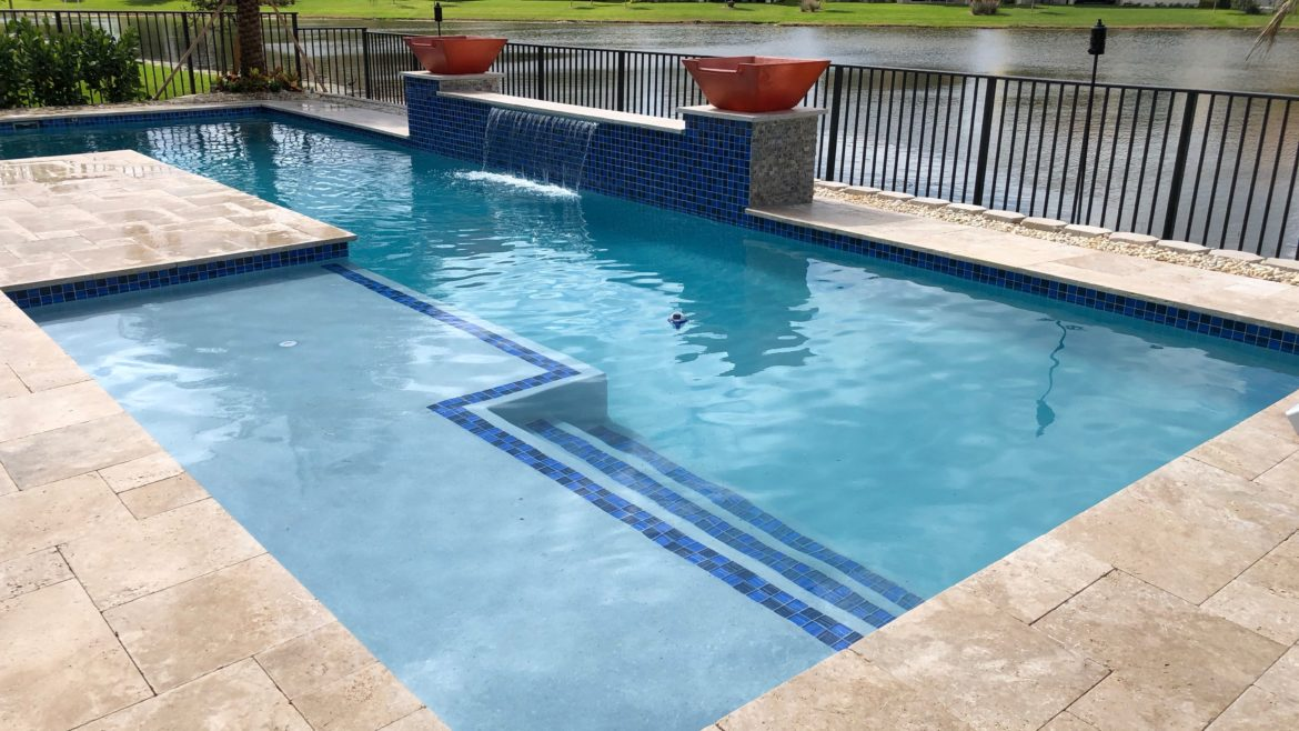 Straight Line Pool Design